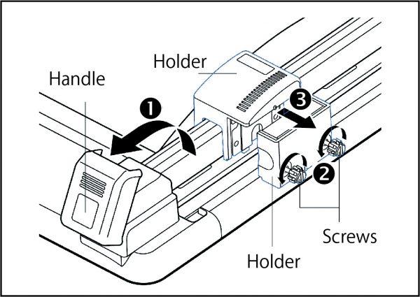 trimmer DC210 blade 1