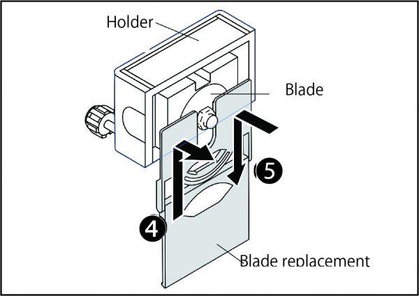 trimmer DC210 blade 2 1