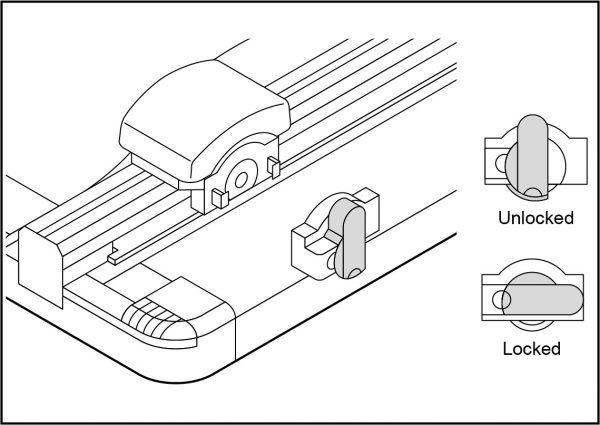 trimmer DC600 blade
